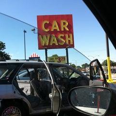 Photo taken at Scrub-A-Dub Car Wash by whazthevillain on 8/27/2011