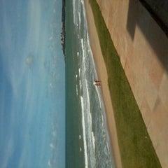 Photo taken at Praia de Pium by Douglas B. on 11/19/2011