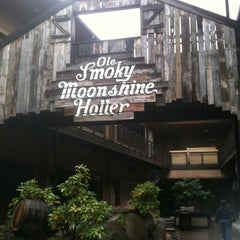 Photo taken at Ole Smoky Moonshine Distillery by Josh A. on 4/3/2012