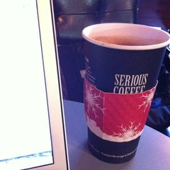 Photo taken at Serious Coffee by Jeremy on 11/24/2011