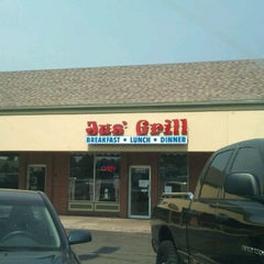Photo taken at Jus Grill by Diane N. on 6/11/2011
