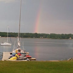 Photo taken at Waterfront Mary's Bar & Grill by Karen B. on 7/27/2012
