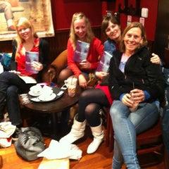 Photo taken at Caffè Nero by Barbara V. on 4/21/2012