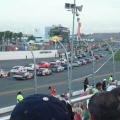 Photo taken at Daytona International Speedway by Orlando Property Manager D. on 7/8/2012