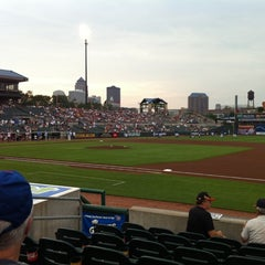 Photo taken at Principal Park by Dave O. on 7/15/2011