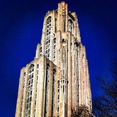 Photo taken at University of Pittsburgh by gina v. on 3/20/2012
