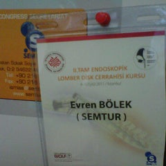 Photo taken at Semtur seminer kongre organizasyon turizm tic. ltd. sti. by Evren B. on 9/28/2011