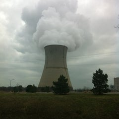 Photo taken at Davis-Besse Nuclear Power Station by Jennifer R. on 12/22/2011