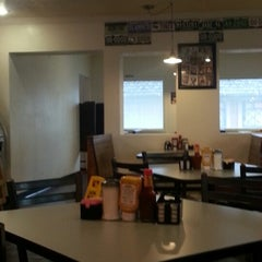 Photo taken at Hits The Spot Diner by Allie M. on 9/12/2012