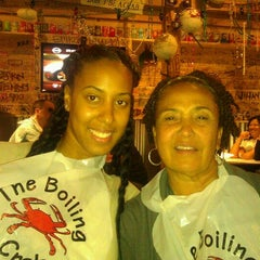 Photo taken at The Boiling Crab by Morgan R. on 10/4/2011