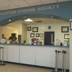 Photo taken at Houston Humane Society by Tony A. on 6/12/2011