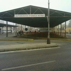 Photo taken at Autobusová stanica Nitra by Peter J. on 11/22/2011