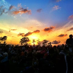 Photo taken at Miller Outdoor Theatre by Jordan B. on 4/24/2011