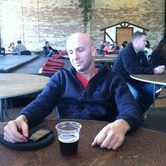 Photo taken at Lakefront Brewery by ian a. on 4/21/2012