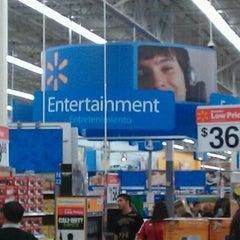 Photo taken at Walmart Supercenter by Phillip M. on 11/21/2011