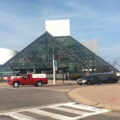 Photo taken at The Rock and Roll Hall of Fame + Museum by Elmer P. on 3/18/2012