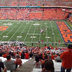 Photo taken at Carrier Dome by David P. on 9/1/2012