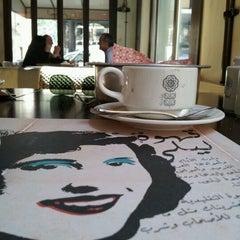 Photo taken at Kahwet Leila   قهوة ليلى by Adbeus M. on 4/2/2012