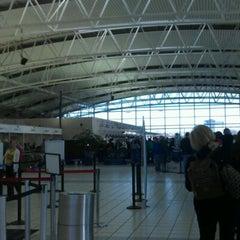 Photo taken at TSA Terminal E Security by Kate M. on 12/25/2011