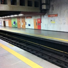 Photo taken at MetrôRio - Estação Carioca by Jefferson M. on 2/11/2011
