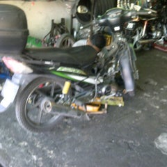 Photo taken at Kedai motosikal PMM Motors by Faizul N. on 11/19/2011