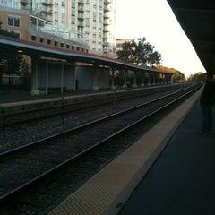 Photo taken at Metra - Evanston (Davis Street) by Running for the Kids S. on 10/7/2011