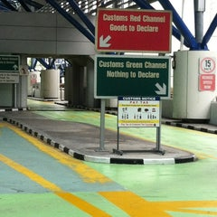 Photo taken at Tuas Checkpoint (Second Link) by Hood I. on 6/30/2012