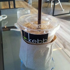 Photo taken at Kebb Café by Play T. on 10/26/2011
