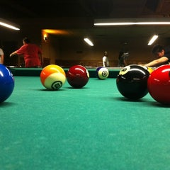 Photo taken at SoHo Billiards by Anna H. on 9/3/2012