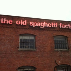 Photo taken at The Old Spaghetti Factory by Cheryl R. on 1/17/2011