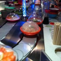 Photo taken at YO! Sushi by Troy M. on 10/13/2011