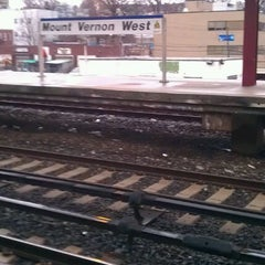 Photo taken at Metro North - Mt Vernon West Train Station by Renea H. on 1/17/2012