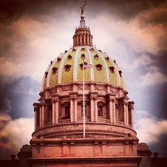 Photo taken at Pennsylvania State Capitol Building by Brian O. on 4/15/2012