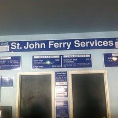 Photo taken at St. Thomas - St. John Ferry by Rod M. on 6/17/2012