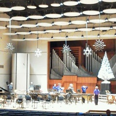 Photo taken at White Concert Hall by Crystal C. on 12/21/2011