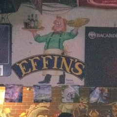 Photo taken at Effins Pub & Grill by Justin C. on 2/16/2012