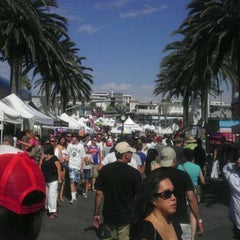 Photo taken at Fiesta Hermosa by Samuel Y. on 9/5/2011