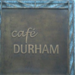 Photo taken at Café Durham by Greg Q. on 1/28/2012