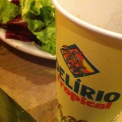 Photo taken at Delírio Tropical by Michelle C. on 5/11/2012
