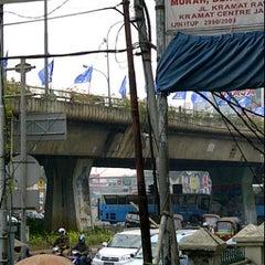 Photo taken at Perempatan Senen by Ajie 7. on 8/22/2011