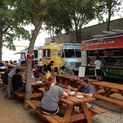 Photo taken at Fort Worth Food Park by Robert M. on 5/6/2012