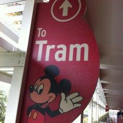 Photo taken at Mickey & Friends Tram by hnygirl2000 on 3/12/2012