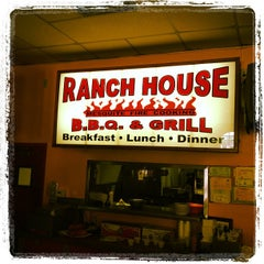 Photo taken at Ranch House BBQ by Thomas L. on 9/9/2012