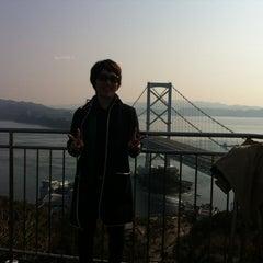 Photo taken at 大鳴門橋 by Saori S. on 3/11/2012