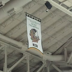 Photo taken at Ralph Engelstad Arena by Nathan W. on 10/2/2011