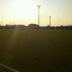 Photo taken at Camp De Futbol De St. Pere Pescador by Jaume S. on 1/15/2012