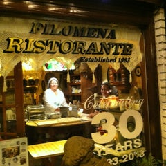 Photo taken at Filomena Ristorante by Tina B. on 8/5/2012