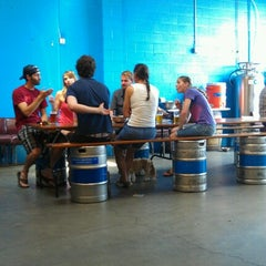 Photo taken at Fremont Brewing Company by Brian C. on 7/21/2012