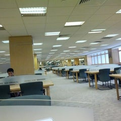 Photo taken at NUS Central Library by Anoj S. on 8/11/2012