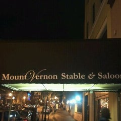 Photo taken at Mount Vernon Stable & Saloon by Caesar F. on 4/4/2012